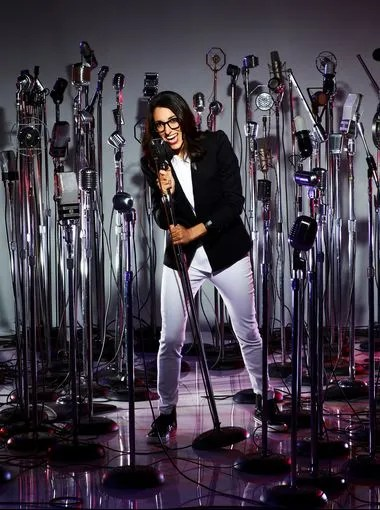 Michelle Chamuel - The self-proclaimed indie nerd is anything but a wallflower on stage. Chamuel kicks, punches, squats and yells her way through performances, proving that she has the stage presence and the vocal ability to make it in this competition.