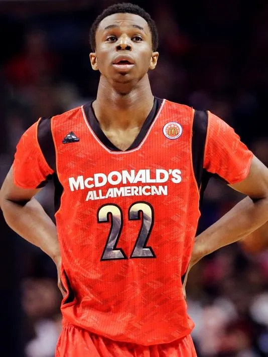 The top recruit of the class of 2013, Andrew Wiggins has high expectations, and in his first scrimmage, he did not disappoint.