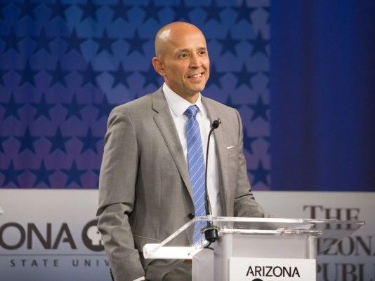 Democratic Governor Candidates Debate On Arizona Issues
