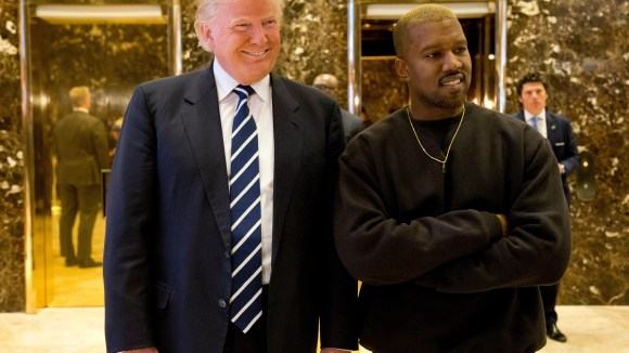 Kanye West, with President Trump in 2016, spoke about the leader of our nation