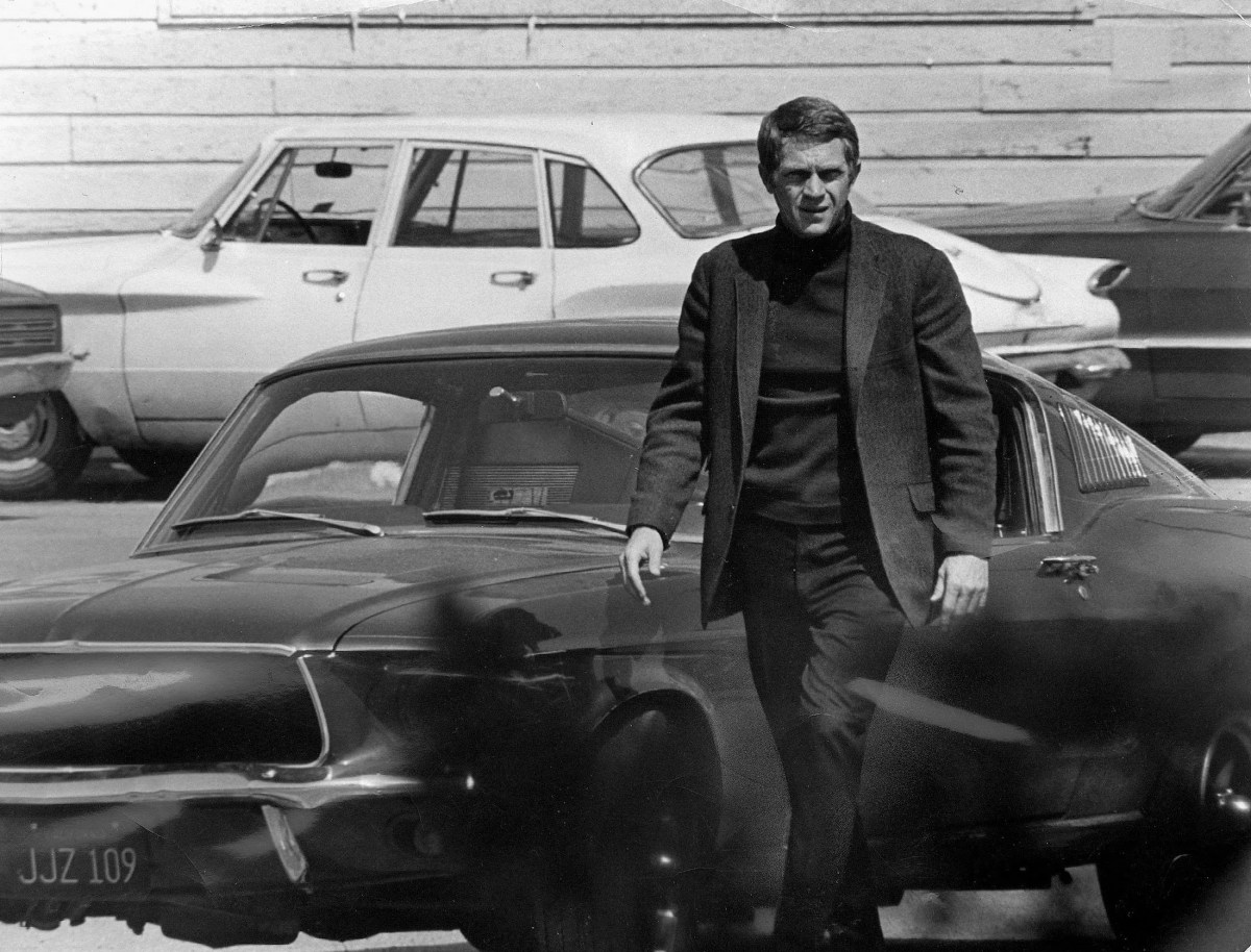 Steve McQueen, protagonist in the lead role of