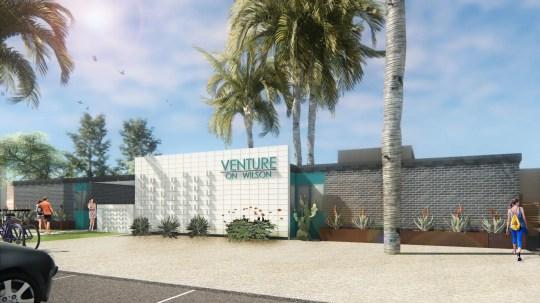 Venture on Wilson in Tempe was Neighborhood Ventures' first project.