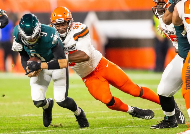 Philadelphia Eagles, Cleveland Browns don't resemble 2017 forms; that's good for one team