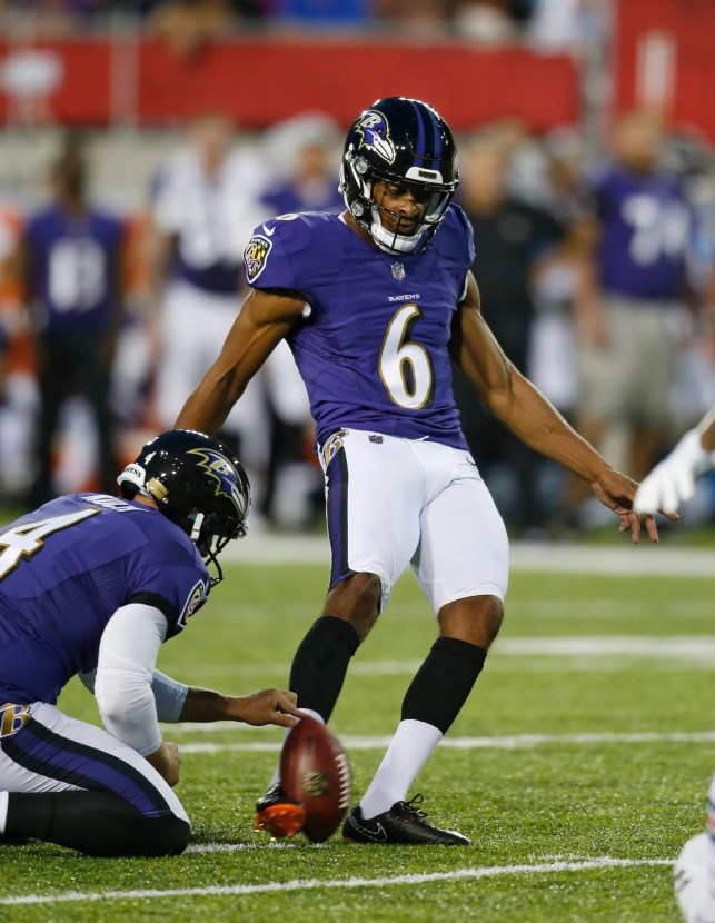 Ravens kicker Kaare Vedvik suffers head wounds, in stable condition at trauma hospital