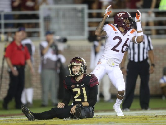 Image result for virginia tech florida state football