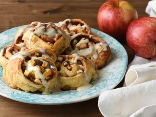 Easy Apple Cinnamon Rolls