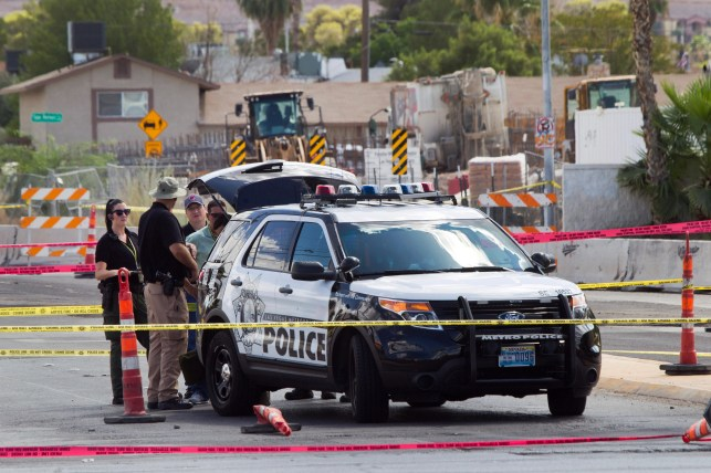Nevada college professor shot self on campus to protest Trump, police say