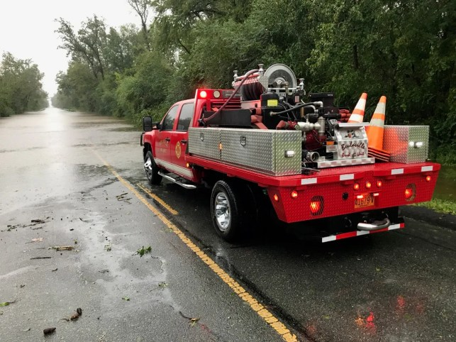 Florence flooding strands town in eastern North Carolina