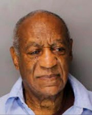Bill Cosby is seen in his first prisoner photo Tuesday evening after he was sentenced to serve three to 10 years at SCI Phoenix, a new Pennsylvania state prison outside of Philadelphia.