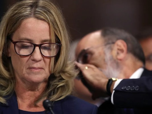 Image result for christine ford kavanaugh