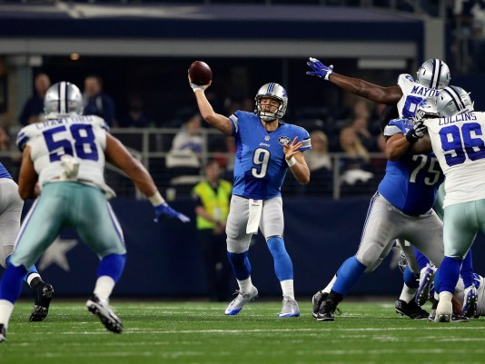 Image result for Matthew Stafford, Dak Prescott