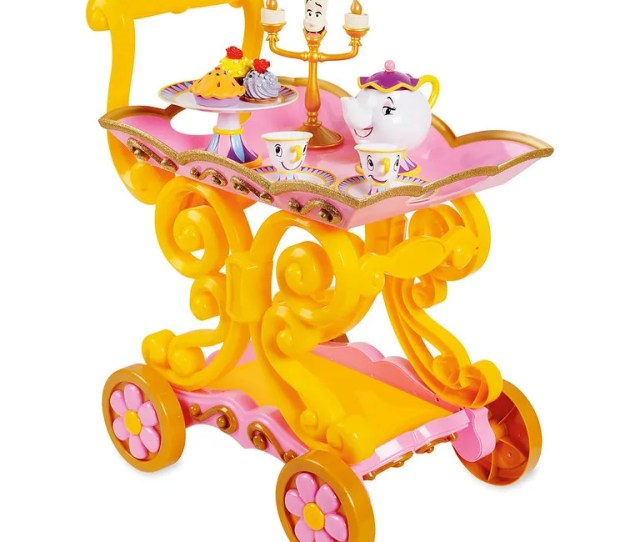 Belle Tea Cart Is Among The Top 15 Toys For 2018 From Shopdisney And Disney Store