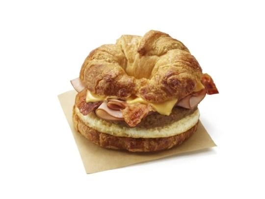 Dunkin' has released an All You Can Meat Breakfast Sandwich.