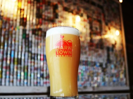 Neon, a New England Style Hazy IPA, at Barn Town Brewing Company.