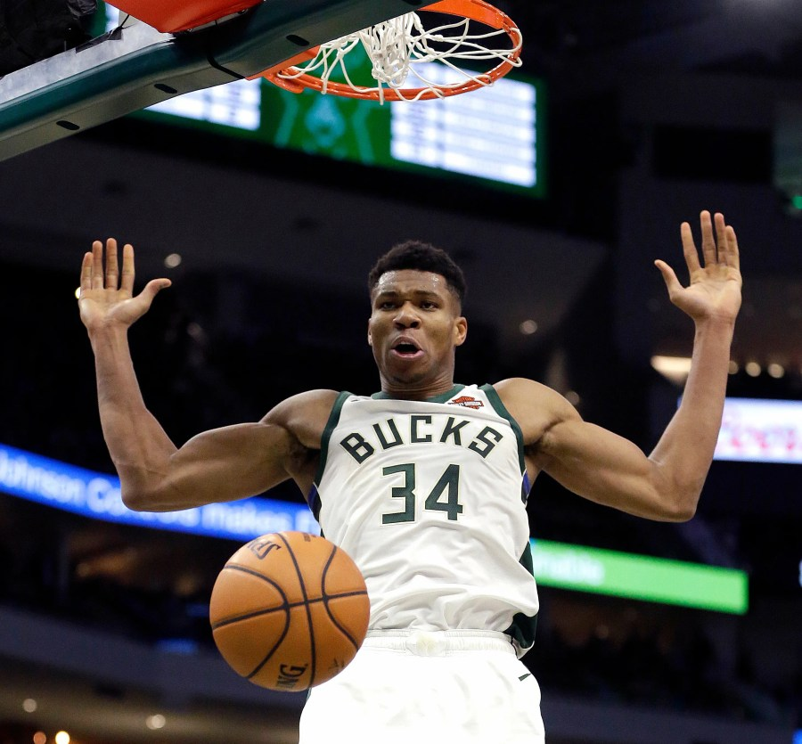 Giannis Antetokounmpo putting up big numbers, but just ...