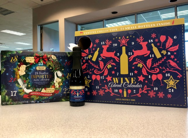 Aldi and Kroger releasing wine Advent calendars in November, and Aldi has a beer one, too