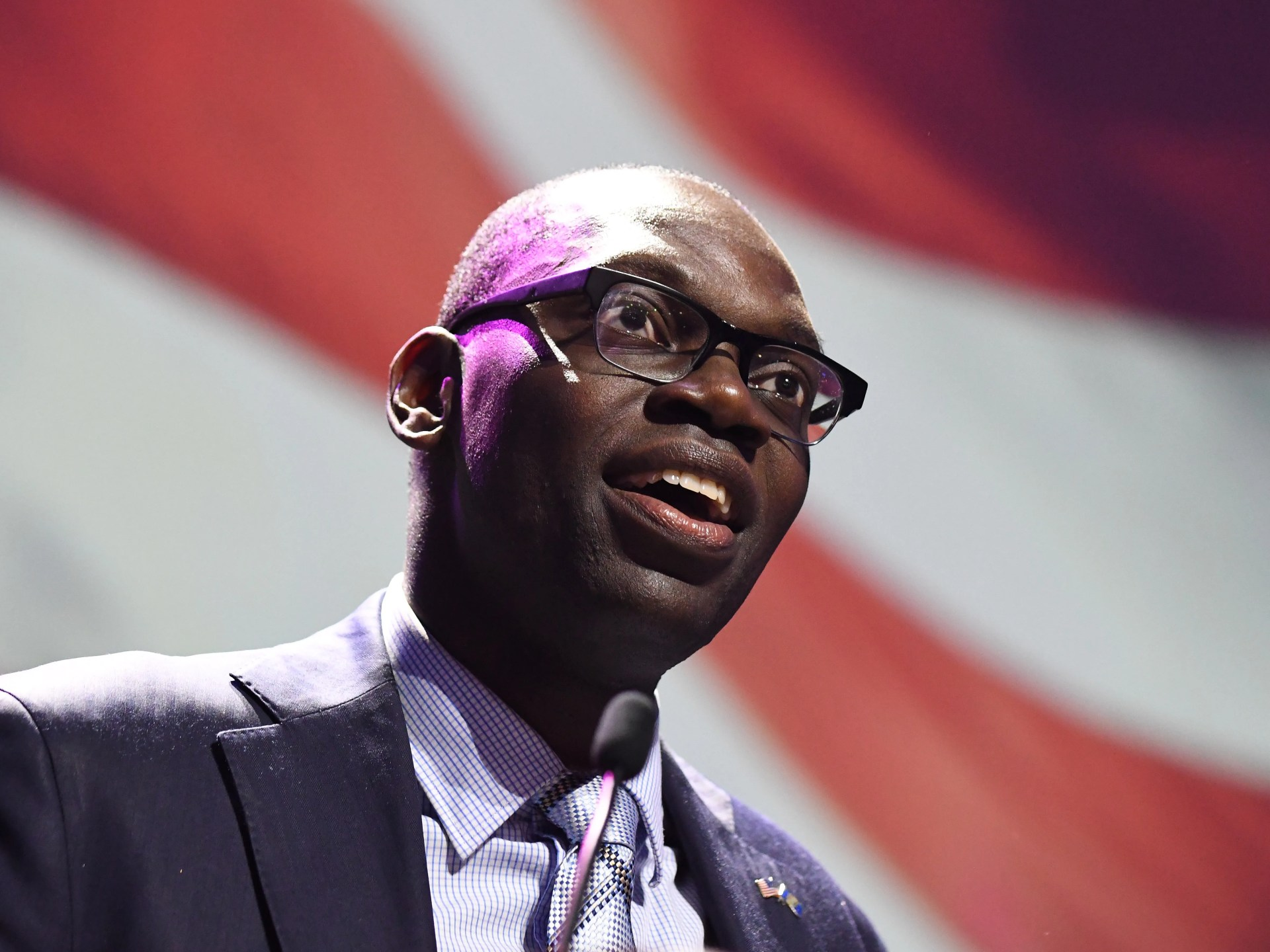 """""""I am so excited about what the state of Michigan is doing right now,"""" said Garlin Gilchrist II said after the race was called. """"I am so proud to humbly accept the opportunity to serve as your next lieutenant governor."""""""