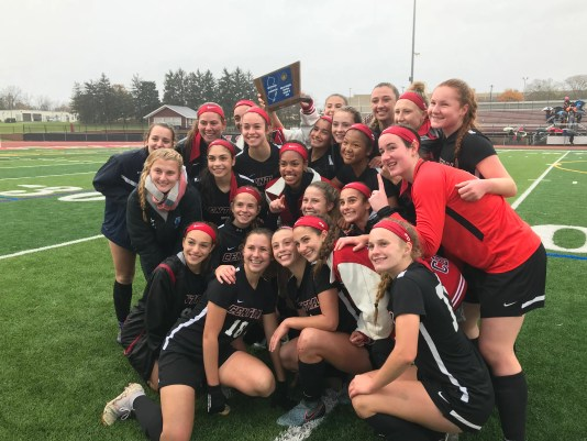 Hunterdon Central girls soccer