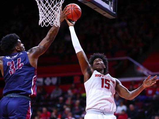 Myles Johnson goes against Rutgers against FDU
