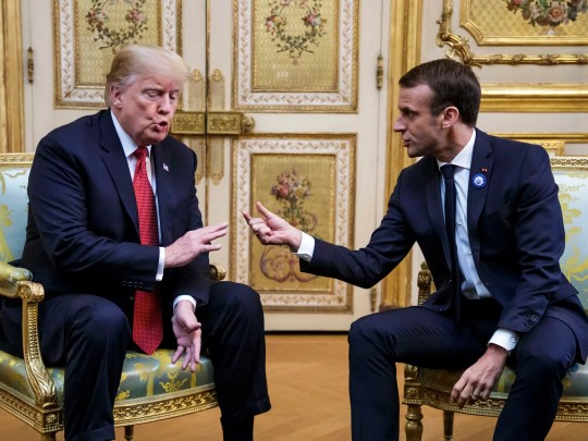 French President Emmanuel Macron and President Donald Trump will meet at the Elysée Palace prior to the international ceremony marking the centenary of the ceasefire on 11 November 1918. Trump will join other leaders in commemorating their countries. Fallen soldiers of the First World War in France.