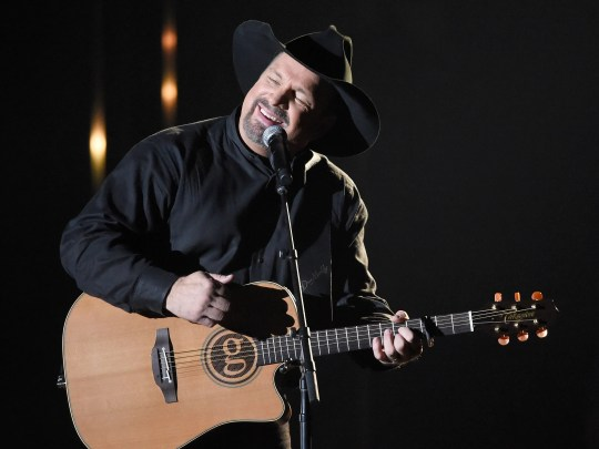 Garth Brooks performs during the 52nd Annual CMA Awards at Bridgestone Arena Wednesday Nov. 14, 2018, in Nashville, Tenn.