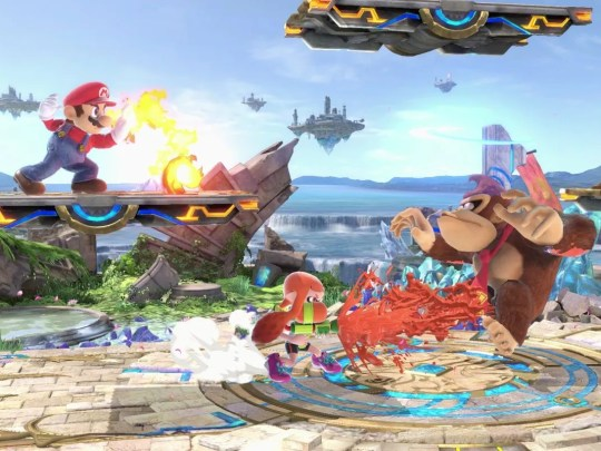 """In Nintendo's """"Super Smash Bros. Ultimate, you can pick your favorite fighter and play against the game's A.I. or a friend, to see who reigns supreme. This cartoon brawler is a blast."""