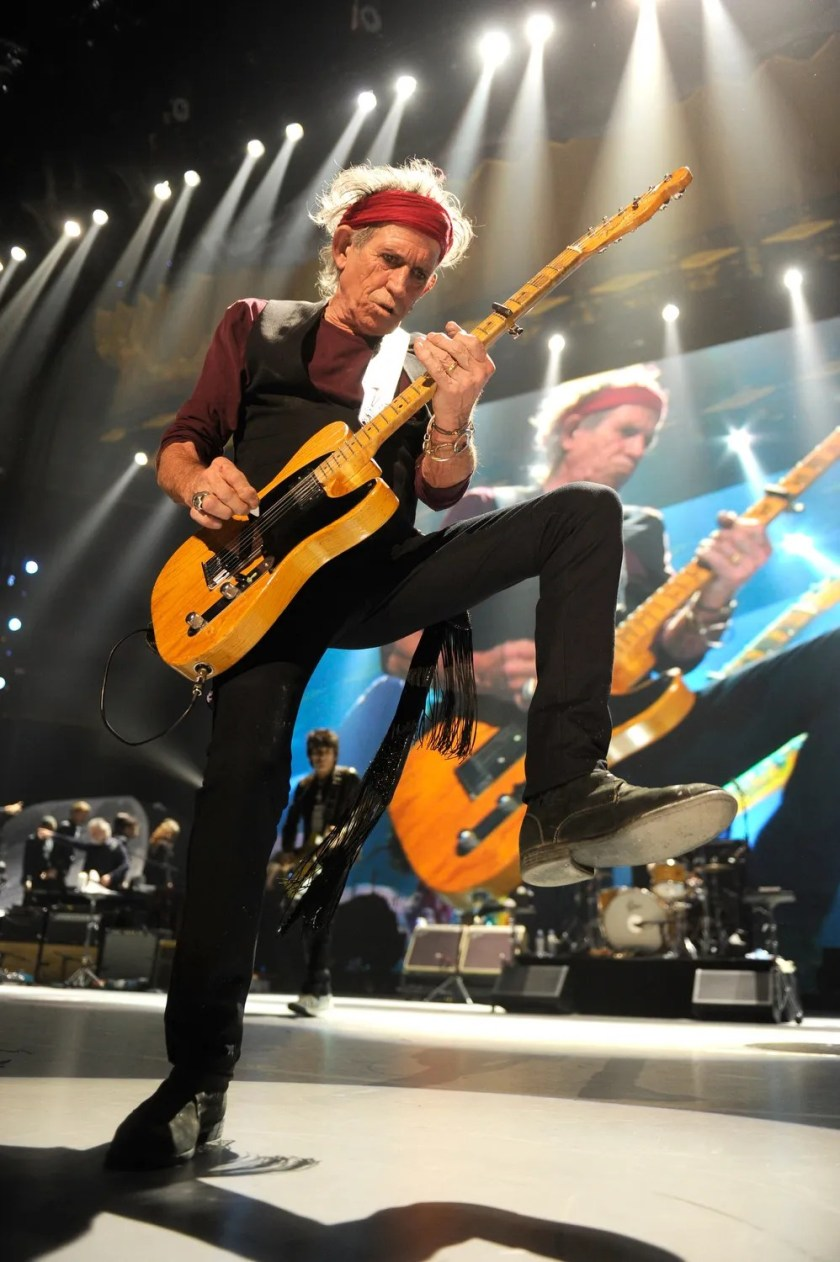 """Unsurprisingly, Rolling Stones guitarist Keith Richards has enough crazy stories to fill a book. His 2010 memoir """"Life"""" contained an anecdote from his younger years when he was driving his bandmates in his car, which wasfilled with hidden drugs. """"I had a denim cap with all these pockets in it that were filled with dope,"""" he said. """"Everything was filled with dope. In the car doors themselves, all you had to do was pop the panels, and there were plastic bags of coke and grass, peyote and mescaline. Oh my god, how are we going to get out of this?"""" he recalled asking himself."""