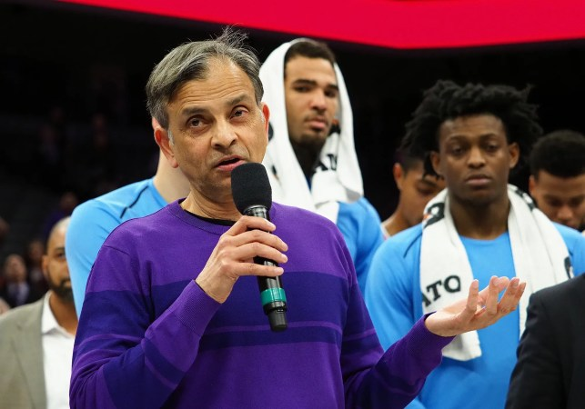 Kings' Vivek Ranadive: 'Beyond my wildest dreams' to have NBA exhibitions in native India