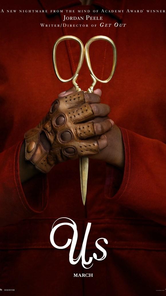 "Golden scissors are symbolic iconography in Jordan Peele's new horror film ""Us."""