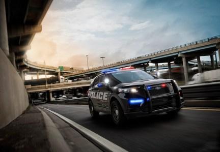 2020 Ford Police Interceptor SUV.