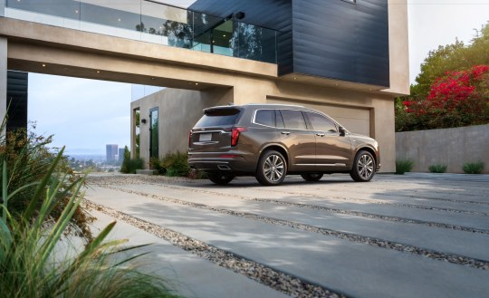 """The new Cadillac XT6 is described as the Escalade's """"little brother."""""""