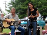 Reggie Young and his wife, Jenny Lynn, perform together in this file photo.
