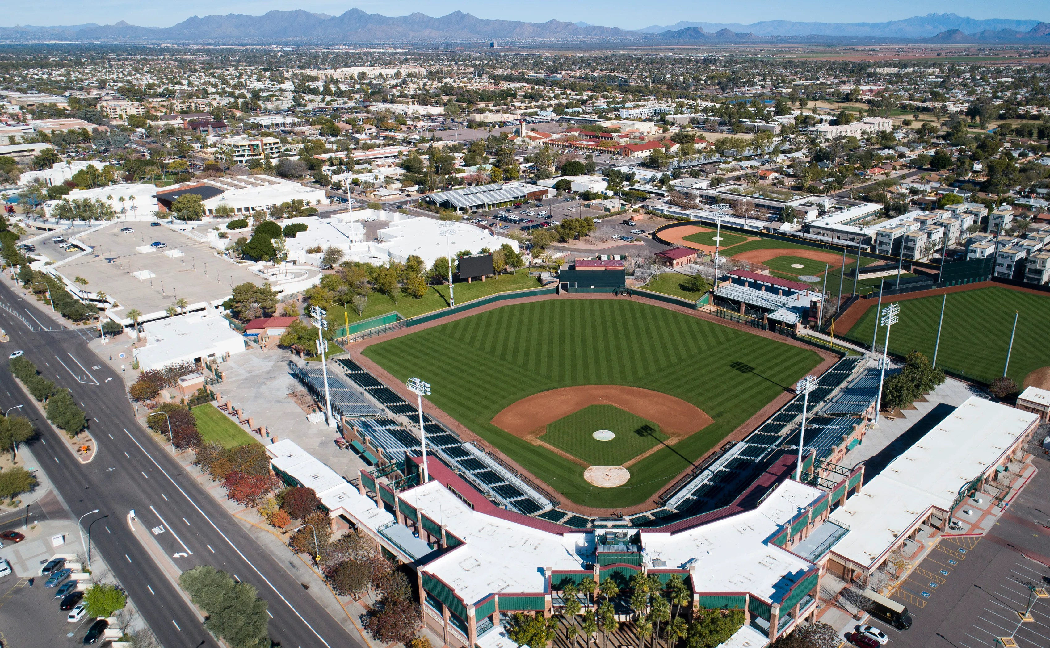 Arizona 2020 Spring Training: Drive to the Cactus League Stadium