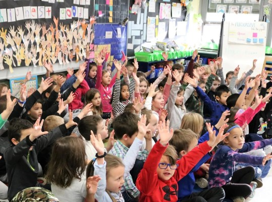 The Tamaques school in Westfield honored Dr. Martin Luther King, Jr.