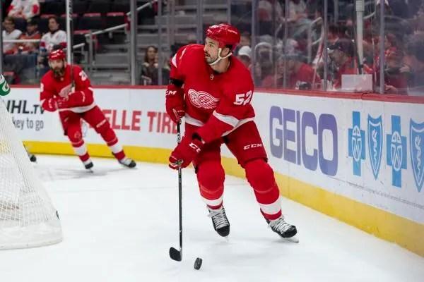 Red Wings waive veteran defenseman Jonathan Ericsson