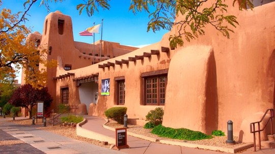 The New Mexico Museum of Art in Santa Fe.