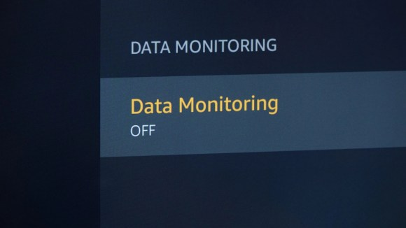 In the menu settings, you can turn data monitoring off on TCL Roku branded TVs