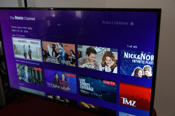 The Roku Channel offers ad-supported movies and TV shows on TCL and other brand TVs