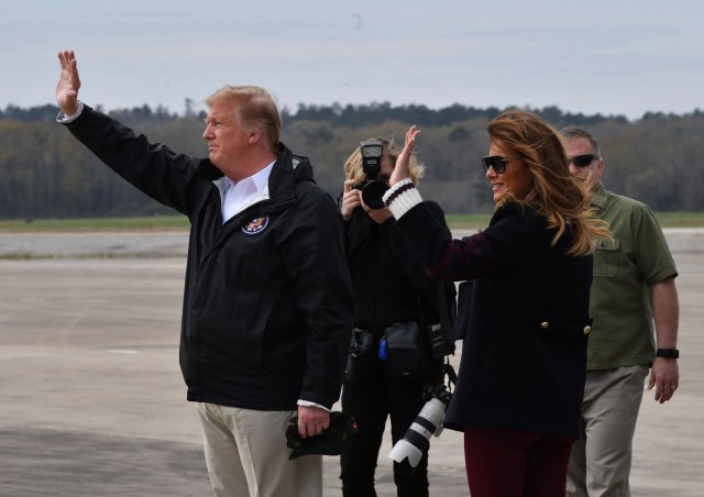 15262597-b975-4d59-8f88-09be575734ed-Trump-AlabamaAFP_1ED7F9 President Trump surveys damage, meets with victims of Alabama tornado that killed 23