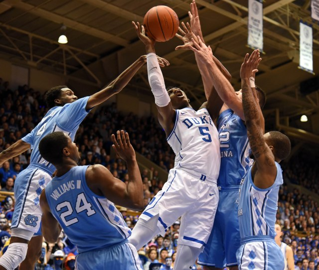 Duke North Carolina Tops College Basketball Weekend In March Madness