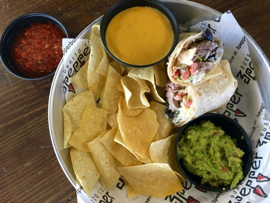 The steak burrito from 3 Pepper Burrito Co. in south Fort Myers.