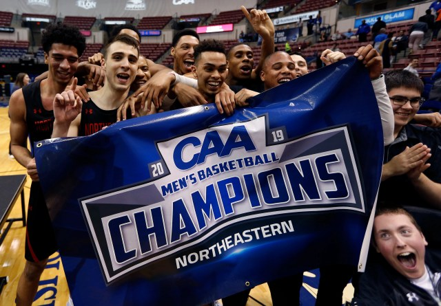 Northeastern (23-11), No. 13 seed in Midwest, Colonial Athletic Association champion. Eliminated in first round.
