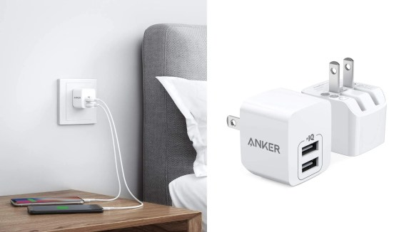 Charge up to two devices simultaneously.