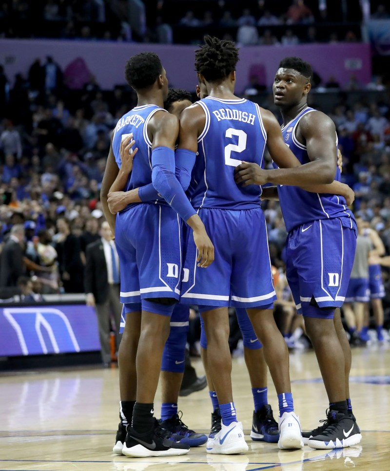365a10fc11b March Madness bracketology: Duke charges in latest prediction of NCAA  tournament field