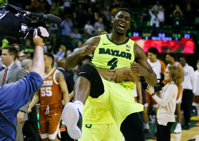 Baylor (19-13), No. 9 seed in West, at-large bid out of Big 12 conference. Eliminated in round of 32.