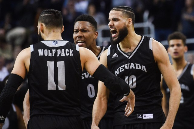 Nevada (29-5), No. 7 seed in West, at-large bid out of Mountain West Conference. Eliminated in first round.