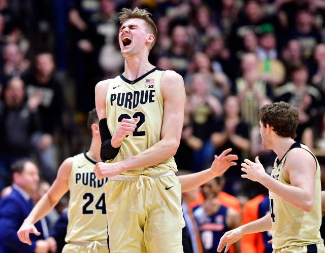 Purdue (23-9), No. 3 seed in South, at-large bid out of Big Ten Conference.
