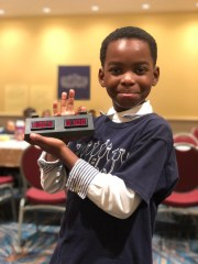 Tanitoluwa Adewumi recently earned the title of New York's chess champion for kindergarten through third grade. He's a homeless Nigerian refugee who just learned the game a little over a year ago.