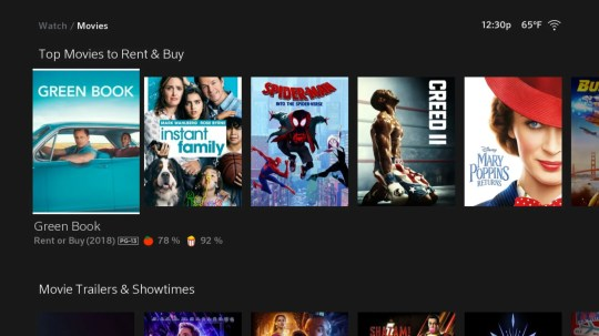 As with other services you can buy or rent movies and TV shows through Xfinity Flex from Comcast.