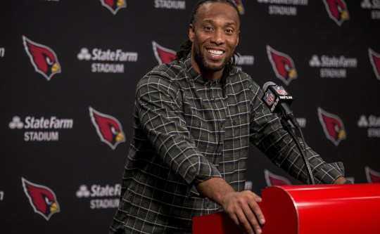Larry Fitzgerald is one of the NFL's elder statesman.